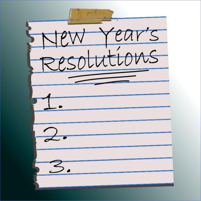 New School Year Resolution